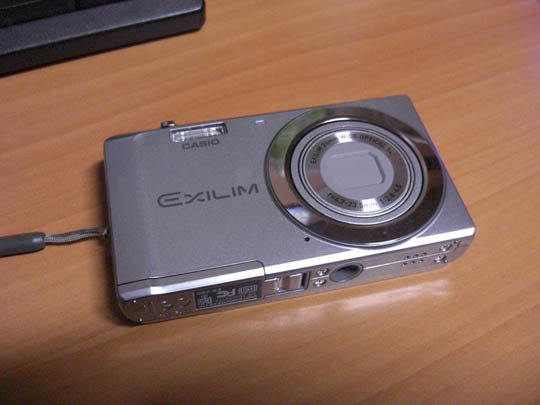 EXILIM EX-ZS5を買った
