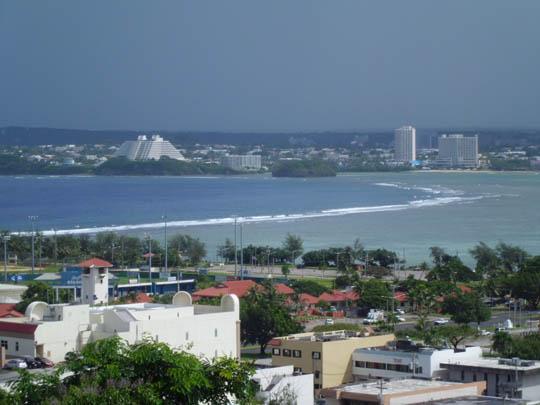 CASIO EX-ZS5で撮影したグアムの景色1