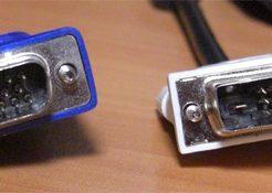 D-Sub(アナログ)とDVI(デジタル)の画質の違いは?